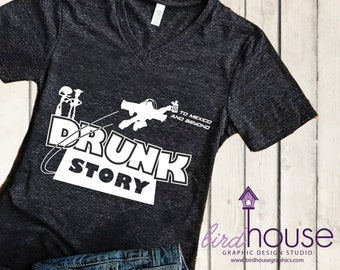 Drunk Story T-Shirt Toy