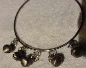 Junk Metal Tiny Bell Bracelet