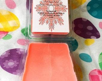 Vegan 3 pk Freshly pouured Pink Sugar Soy wax melts