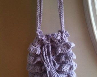 Patterns, Crochet Patterns, Totes, sacs à main, sacs, au Crochet, rond, volants, accessoires, femmes, filles