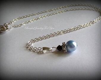Wedding Neckalce: Pearl Bridesmaid Necklace, Bridesmaid Necklace, Wedding Jewelry, Bridesmaid Jewelry, Jewelry for Brides, Bridal Jewelry