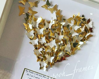 Butterfly Heart Frame