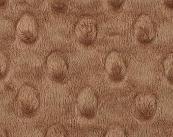 Minky fabric, fabric minkee velvet taupe coupon