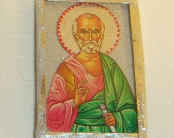 St Simon the Apostle Pendant inv1696