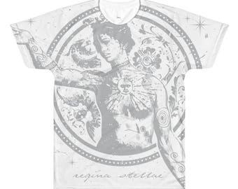 Regina Stellae All-Over Printed T-Shirt