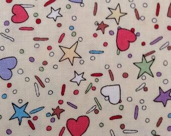 One Half Yard of Fabric - Confetti Sprinkles