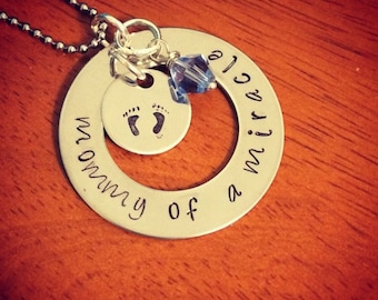 Mommy of a Miracle Necklace