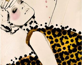 Current - Fashion Illustration Art Print