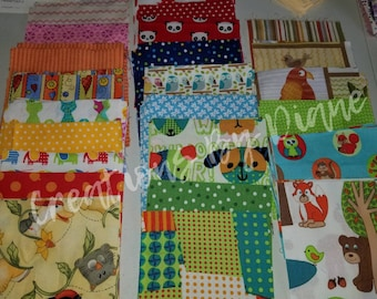 Juvenile Charm pack #120 count four inches square