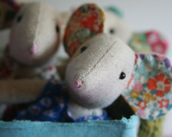 Pattern Flora The Mouse