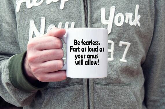 Fart jokes coffee mug