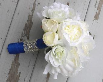 bouquet blue bridal/bridal bouquet/hydrangea bouquet/ bouquet/wedding bouquet/bridal bouquet/wedding flowers