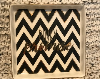 Decorative trinket tray