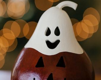 T-Light Pumpkin Ghost
