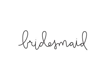 bridesmaid temporary tattoo bachelorette party tattoos fake tattoos wedding day tattoo handlettering bachelorette tattoos bridal party gift