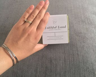 Wonderfully Made bracelet by FaithfulBand - Inspirational Gifts, Christian Bracelet