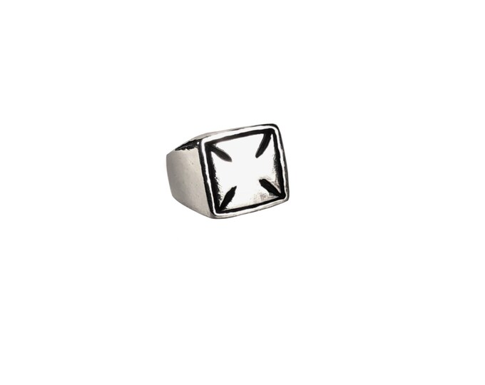 Iron Cross Signet Ring
