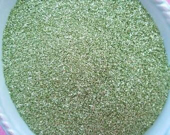 German Glass Glitter - Spring Green - 90 Grit - 1 ounce