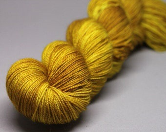 poupon - Hand Dyed Yarn - Twisted Spark Sock - Superwash 75/20/5 Merino Nylon Stellina - {poupon}