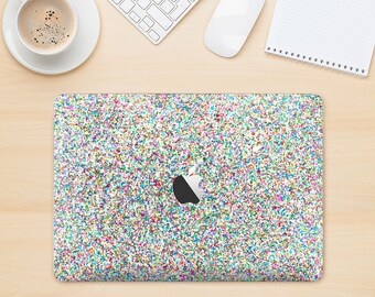The Colorful Small Sprinkles Skin Kit for the Apple MacBook Air - Pro or Pro with Retina Display (Choose Version)