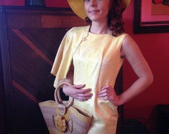 Vintage 60s Resort Wear suit dress