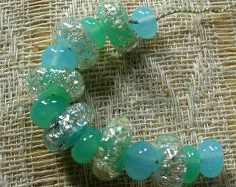 Perles de verre au chalumeau par Catalinaglass SRA Cool Splash d'eau