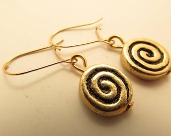 3902 -  Spiral Earrings