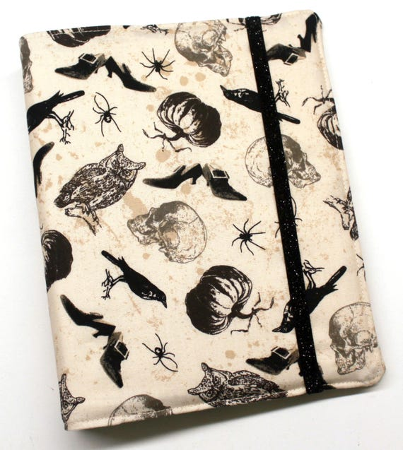 Spooky WIP Tracker Cover and Binder