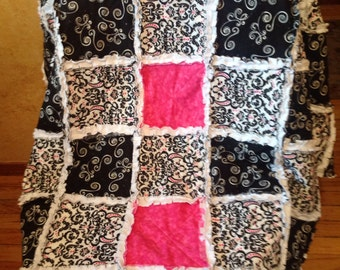 Rag Quilt fit for a Princess