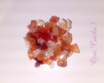 70 fire Agate stone chips