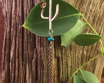 Cactus Tassle Necklace