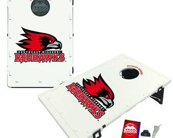 Southeast Missouri State University Redhawks Baggo Cornhole Game Designs