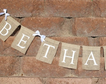 Be Thankful Garland Be Thankful Banner Be Thankful Bunting Thanksgiving Burlap Banner Thanksgiving Burlap Garland Thanksgiving Home Decor