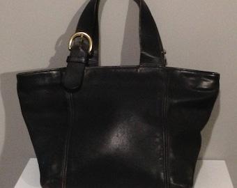 Vintage Small Coach Soho Waverly Tote Bag