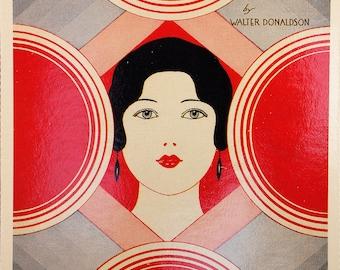 Hello Beautiful, by Walter Donaldson, Nostalgic Song Sheets Postcards, Popular Screen, Radio & Recording Artist, Maurice Chevalier