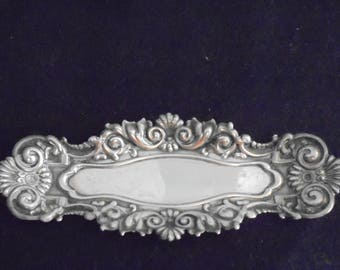 Miniature Sterling Silver Antique Tray