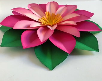 Large Paper Flower, Fully Assembled