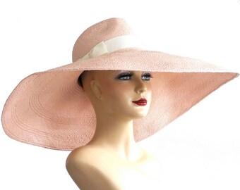 Floppy Wide Brim Panama Fedora Hat Sun Hat Women's Hat Straw Hat Kentucky Derby Hat  Spring Fashion Spring Accessories Summer Hat Panama Hat