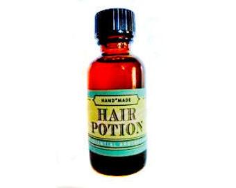 Potion de cheveux pour stimuler la croissance des cheveux, de résoudre des pellicules et de créer des cheveux épais et brillant