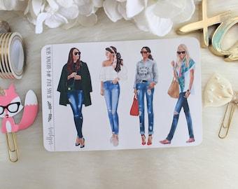Jeans Day #4, Brown Skin, Fashion Girls