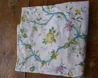PAIR of CURTAINS, MARIGNAN, finery, vintage fabrics(tissues) on 1950,1960, harmony,