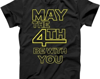 May The 4th Be With You - T shirt