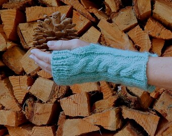 Fingerless Gloves, Arm Warmers, Gift Under 40, Gift for Mom