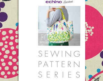 Paper Pattern | Echino Tulip Bag Pattern JRK900
