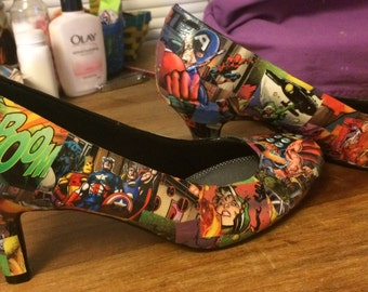 Superhero Heels Ready To Ship!
