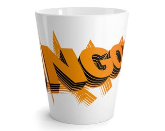 Ungodly 1 In Orange Latte Mug