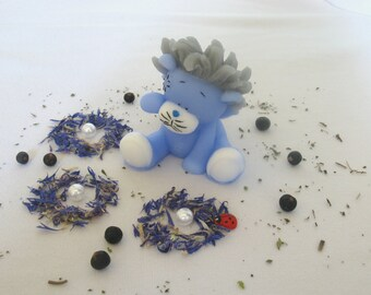 Blue Lion Soap, pink lion, creative handmade soap, Lion soap, best gift for boys, soap toy, soap baby skin care, funny soap, cute soap