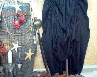 Renaissance Pirate Steampunk Skirt Different Colors Available Can Be Made Any Size