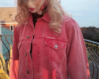 Denim jean jacket .1980's