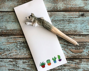Little Cactus NotePad, grocery list, to-do list